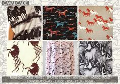 premiere vision, horse print, horse repeat, horse fashion, issa horse