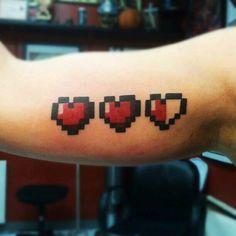 zelda hearts tattoo - Buscar con Google