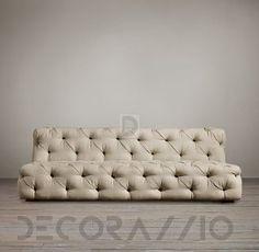 #capitone #sofa #furniture #design #interior Диван Restoration Hardware Living - RH5