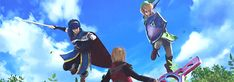 Shulk vs Marth and Link - Smash Bros