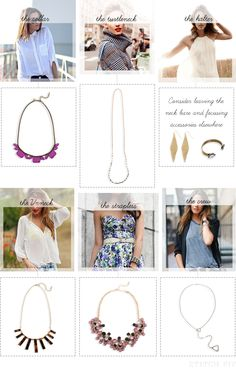 Ask A Stylist: How Do I Pair Necklaces and Necklines