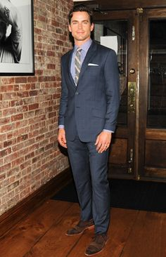 Matt Bomer attends NYC's Most Stylish Dads Dinner at Perla restaurant in NYC. - See more: http://tomandlorenzo.com/2012/06/matt-bomer-stylish-dad.html