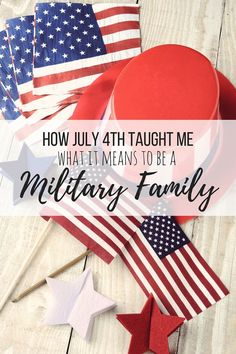 What it means to be a military family, and not just the to the one that you're married to!