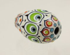 Ottoman Style Egg Shaped Bead M4 from the March by AmyWaldmanSmith, $75.00