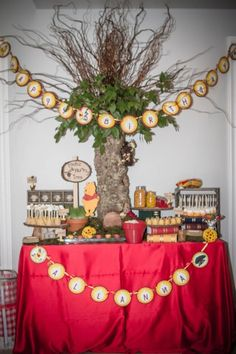Winnie The Pooh Hundred Acre Wood Party Planning Ideas Supplies Idea