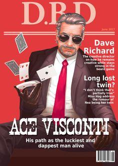 Ace Visconti - Magazine cover