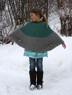 Cool Cape - Pickles Free Pattern