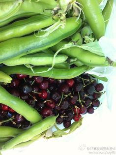 beans and cherries > country life~
