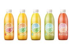 Before & After: Simply Squeezed #plastic #packaging, via @TheDieline