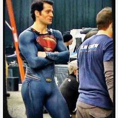 Our superman Henry Cavill Henry Caville, Superman Henry Cavill, Superman Man Of Steel, Real Superman, Le Male, Hommes Sexy, Ryan Gosling, Christian Grey, Gorgeous Men