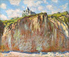 Claude Monet (1840-1926) Église de Varengeville, effet matinal (by BoFransson)