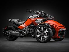 2015 Can-Am Spyder F3-S in Cam-Am Red Solid Gloss/Steel Black Metallic