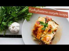 Een lekker koolhydraatarm hoofdgerecht, koolhydraatarme courgette lasagne. Om deze lasagne koolhydraatarm te maken heb ik de pasta bladeren vervangen met courgette. Hierdoor bevat de lasagne een stuk minder koolhydraten en veel meer groenten! Low Calorie Recipes, Healthy Recipes, Lunch Recipes, Dinner Recipes, Healthy Diners, Big Meals, Pasta, Calories, Keto Dinner