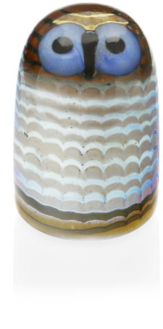 Toikka Owlet Gladd Bird by Iittala: love the entire collection but particularly fond of this gorgeous owl.