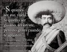 Emiliano Zapata, líder revolucionario y reformador agrarista mexicano.
