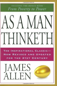 As a Man Thinketh by James Allen This book is a literary essay, published in 1902 about the power of thought. A MUST read! Great Books To Read, I Love Books, Good Books, Love Reading, Reading Lists, Book Lists, Motivational Books, Inspirational Books, As A Man Thinketh