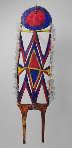 Ritual Board (Wenena Gerua) [Siane people, Eastern Highlands, Papua New Guinea] (1978.412.741)   Heilbrunn Timeline of Art History   The Metropolitan Museum of Art