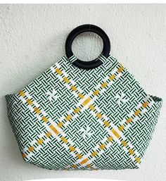 Your place to buy and sell all things handmade Woven Beach Bags, Shopping Travel, Handmade Bags, Beach Trip, Purses And Bags, Hand Weaving, Upcycle, Mesh, Buy And Sell