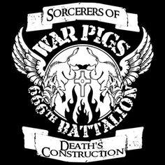 Black Sabbath War Pigs 666th Battalion T-shirt Black Sabbath T