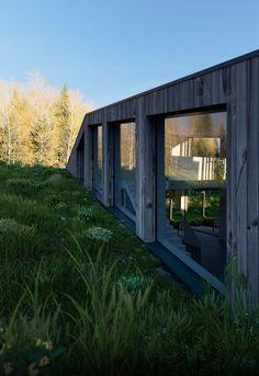 Project: Farmhouse | Maas Architects on Behance