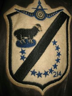 Blacksheep squadron patch from grandfathers flight jacket.