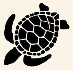 "8"" turtle stencil stencils turtles flexible template animal craft art paint new"