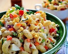 Old Standby Amish Macaroni Salad | RecipeLion.com