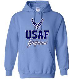 U.S. Air Force Girlfriend Hoodie
