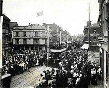 Reading Corporation Tramways opening ceremony, 22 July 1903