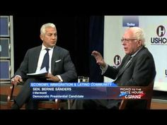 Pls RP: #YouTubeBERNS Bernie Sanders @ Hispanic Chamber of Commerce (7/30/2015)