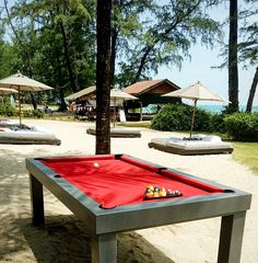 25 amazing outdoor pool tables thailand images thailand outdoor rh pinterest com