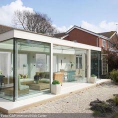 Bilderesultat for wintergarten modern anbau - New Ideas Pergola Patio, Pergola Plans, Backyard Patio, Gazebo, Pergola Ideas, Outdoor Spaces, Outdoor Living, Outdoor Decor, Style At Home