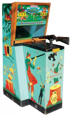 Coin-operated arcade game, DeLuxe Bonus Target Shoot