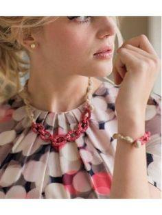 Cherry Blossom Necklace #crochet pattern via @crochetme