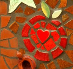 Heart of the Apple Mosaic