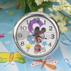 The purple Mickey mini-table clock