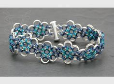 Silverweaver - Item BR004 ~ beautiful chain maille bracelet