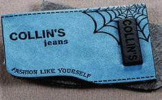 etiqueta de cintura para jeans con aplique metálico. Garra, Tag Design, Label Design, Promotional Design, Leather Label, Old Jeans, Jeans Button, Hang Tags, Badges