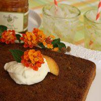 Earth & Vine Provisions Caramel Peach Cake Recipe