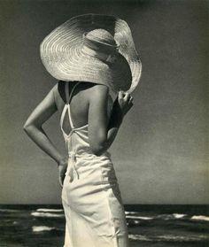Andreas Feininger. Au bord de la mer,  1936.