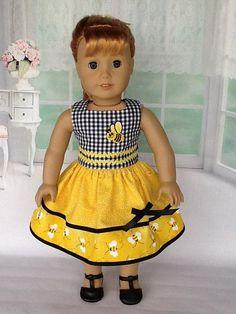 Size 14 maryellen American Girl Pretty Poodle Dress Nwt To Assure Years Of Trouble-Free Service