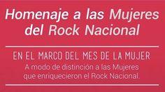 Homenaje a las mujeres del rock nacional en Plataforma Lavarden