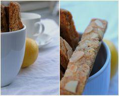 Sitron - Biscotti... Biscotti, Sugar Cookies, Sugar Free, Gluten Free, Breakfast, Food, Glutenfree, Morning Coffee, Essen