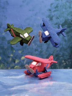Toy Airplanes, would make a cute mobile.