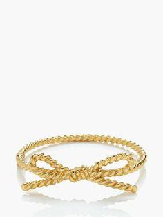 Skinny Mini Rope Bangle by katespade #Jewelry #Bangle  #jewelry #bijoux #bracelet #necklace #collier #bracelet #bijouxcreateur