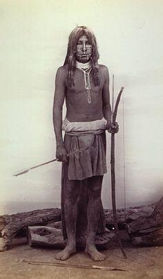Maricopa man - circa 1875