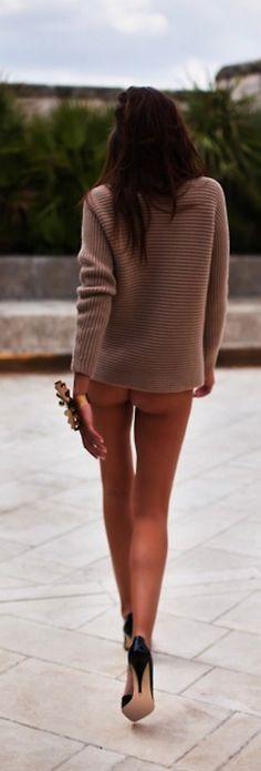 Bottomless fashion