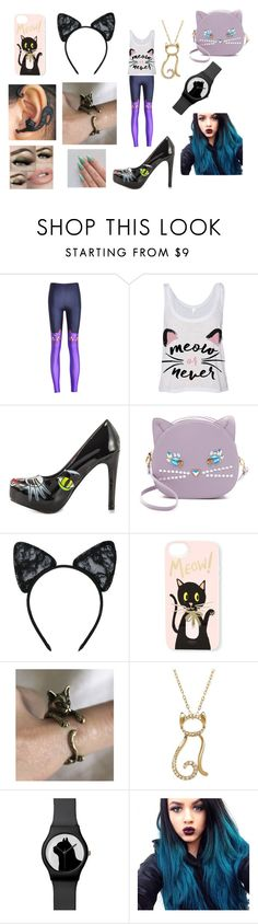 """""""CAT"""" by alliephil ❤ liked on Polyvore featuring Iron Fist, Patricia Chang, Maison Close and Rifle Paper Co"""