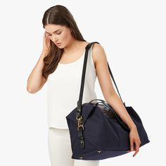 From Paris to Provence, our Le Sud Overnight is inspired by the French migration from the city to the south in the summertime. This beautifully made bag will see you through every unexpected escape, crafted from hard-wearing textured Turkish canvas and vachetta leather. Lined in soft cotton with plenty of pockets, this piece is practical but still exudes a chic, elevated aesthetic. It is finished with glossy gold hardware for a decidedly polished point of view. Depend on it for overnight…