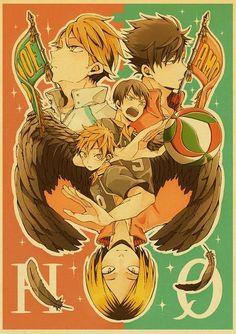Haikyuu!! Posters - 42x30 cm / E193 6